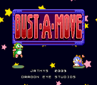 Screenshot Thumbnail / Media File 1 for Bust-A-Move (USA) [Hack by Dragon Eye Studios v0.50] (~Bust-M-Up)